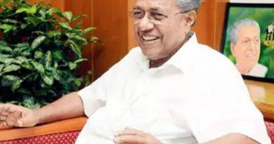 Chief Minister Pinarayi Vijayan will