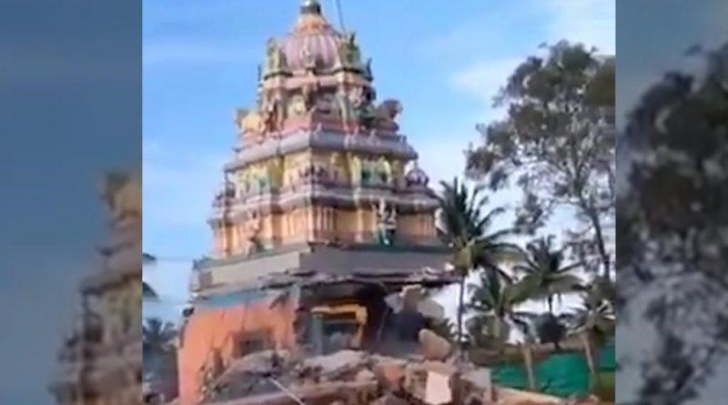 Karnataka temple demolition: